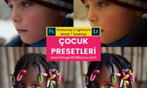 çocuk children photoshop ve lightroom presetleri presets