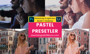 pastel photoshop ve lightroom presetleri presets