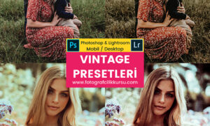 vintage photoshop ve lightroom presetleri presets
