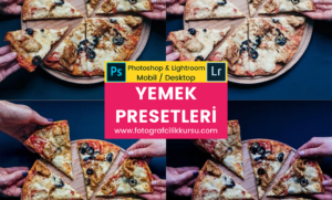 yemek food photoshop ve lightroom presetleri presets